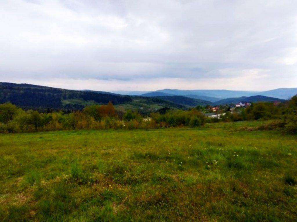 Piękna widokowa działka 19 ar Pcim/okolice Kudłaczy