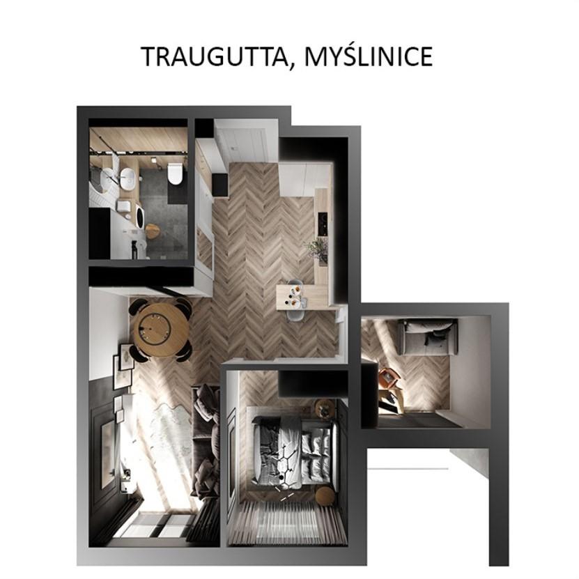 Traugutta, Myślenice