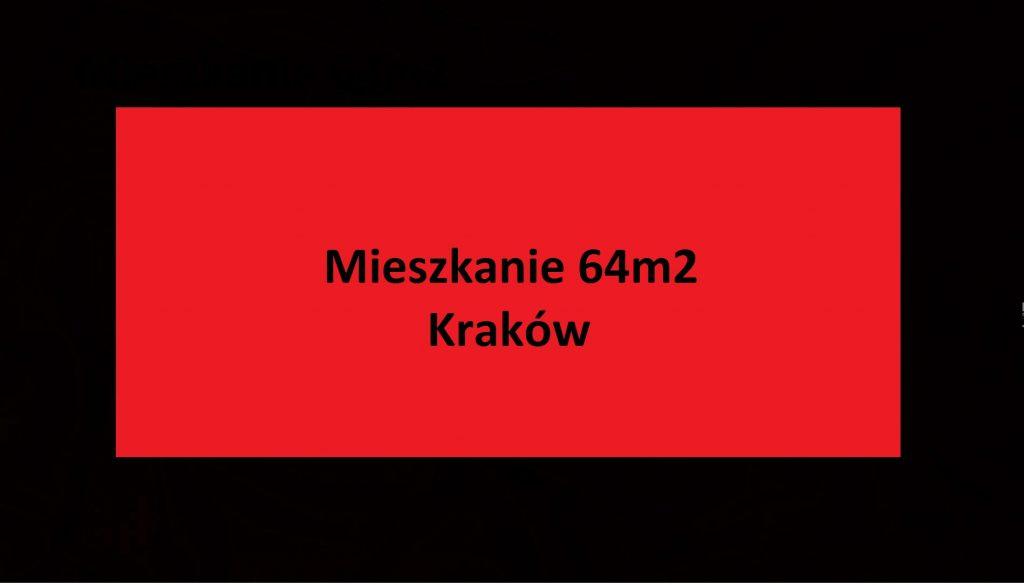 Mieszkanie 64m2 z antresolą – Kraków