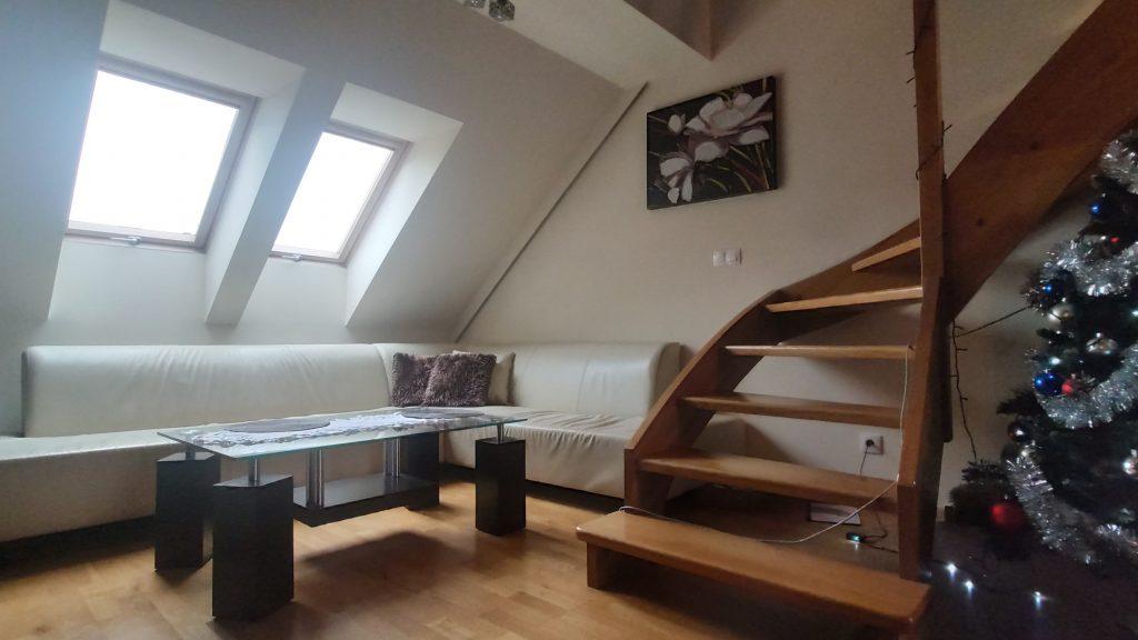 Mieszkanie 2-poziomowe, 74m2, 2 balkony, Garaż